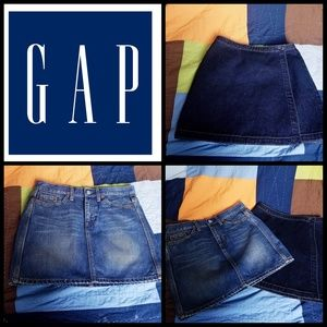 NWOT BUNDLE OF 2 GAP Jean skirts